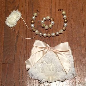 Other - EUC Smash cake outfit from Etsy